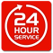 We offer 24 hour emergency service!