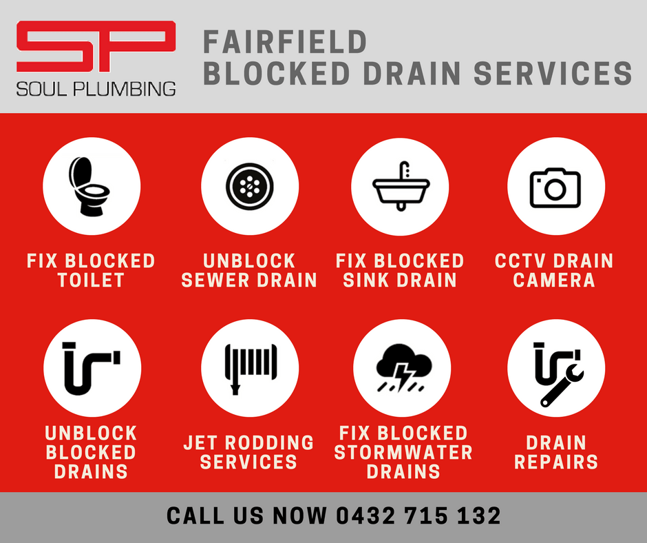 Fairfield Blocked Drain