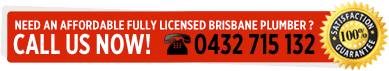 Need an affordable fully licensed Brisbane plumber ?