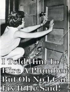 Algester plumbing joke