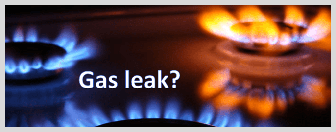 how do you know if you have a gas leak?