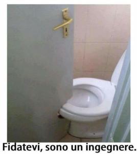 toilet blocked off