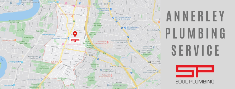 Plumber Annerley Services Map