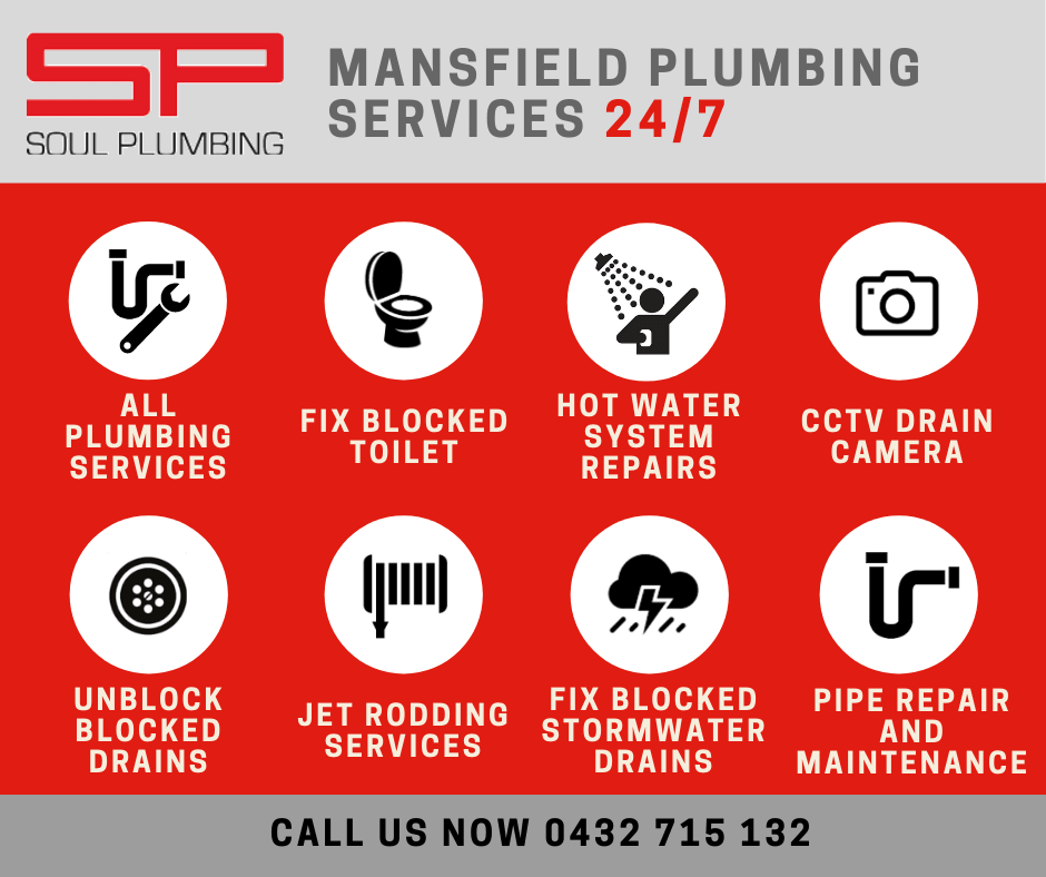 Mansfield Plumber Services
