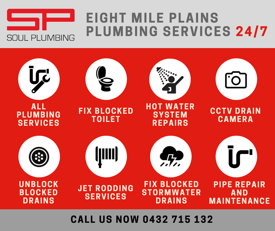 eight mile plains plumber services