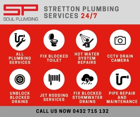 plumber stretton services